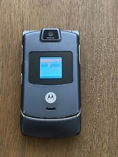 Motorola Razr V3C Gray (Verizon) , Cellular flip cell Phone no return