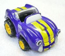 2003 MAISTO/TONKA/HASBRO 1/64 Diecast Purple/Yellow Stripes Sports Car-China WV2