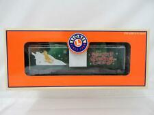 BOXED Lionel Trains 6-19998 Christmas Boxcar 2001 O Gauge C8 Holiday Seasons Gre