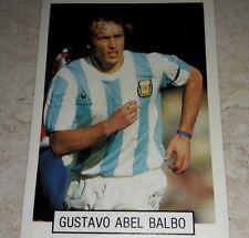 FIGURINA CALCIATORI ARGENTINA BALBO ALBUM MONDIALI