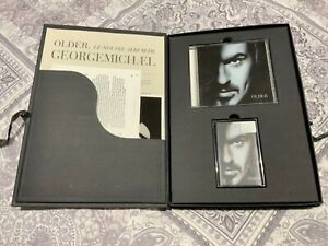 George Michael Older Promo Box Set Biography CD Cassette Photo Press Kit