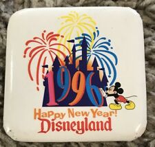 Disney Dl - Disneyland – Happy New Year 1996 Button