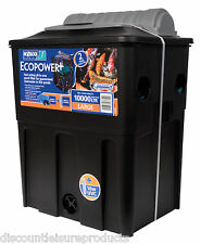 Hozelock Ecopower + 10000 UVC (16w) Fish Pond Filter Black Box Type
