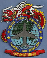 UNITED STATES FEDERAL AIR MARSHAL DRAGON TEAM SHOULDER PATCH