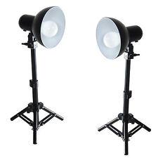 Set de Studio Kit 2x PS01 LED 300W Soporte de Luz, Reflector Lámpara LED