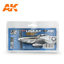WW2 USAAF AIRCRAFT COLORS VOL 2 paint set from AK Interactive