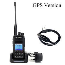 Retevis RT3S GPS DMR Walkie Talkie 2 Way Radios 2m/70cm VOX TOT 3000CH w/ USB