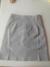 Ladies grey Prince of Wales Check Skirt Size 16, mod, scooter girl,skinhead BNWT