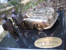 "Jeffrey Gamble (USA) Gold Porsche 356 #1 Protoype ""Born To Design"" Bronze 1:24"