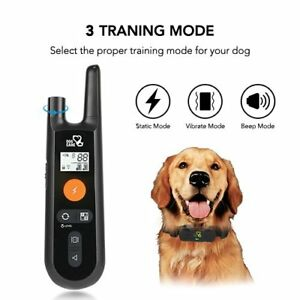 Dogcare Sport Dog Training Collar Rechargeable Shock 3 Modes - Open Box