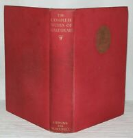 The Works Of William Shakespeare- IN ONE VOLUME- Odhams Press - 1947 Hardback