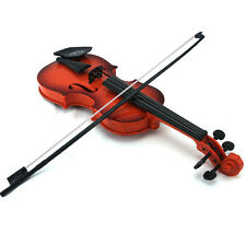 childrens Educational Musical Instrument gift Fiddle Brown Simulation Violin TOY