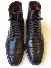 Alden Plaza Wingtip Shell Cordovan Color 8 Boot Size 11 D $750