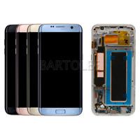 Ecran LCD Verre Tactile Sur Châssis Pour Samsung Galaxy S7 Edge SM-G935F + Tool