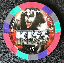 KISS Gene Simmons $5 Seneca Casino Roulette Limited Concert Edition SOLD OUT !