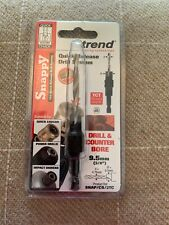 Trend Snappy SNAP/CB/2TC DRILL AND COUNTER BORE  9.5MM