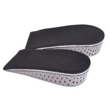 Men Women Invisible Height Increase Insoles Heel Lift Taller Shoe Inserts Pad UK