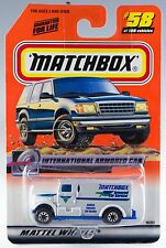 Matchbox #58 International Armored Car With MB 2000 Logo MOC