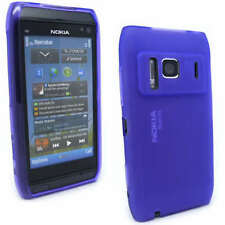 NEW Purple Jelly Case Cover Gel Skin for Nokia N8 + SP