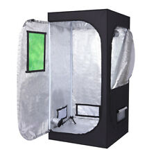 Indoor Hydroponic Plant Grow Tent w/ Window Dismountable Plant Room 80x80x160cm