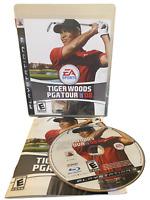 Tiger Woods PGA Tour 08 W Manual PS3 PlayStation 3 Game