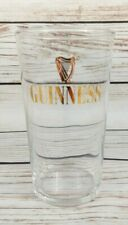 More details for vintage guinness pint glass with crown stamp 562
