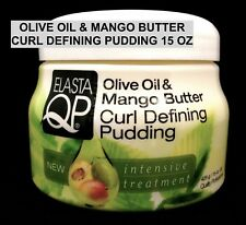 ELASTA QP OLIVE OIL & MANGO BUTTER CURL DEFINING PUDDING INTENSIVE TRATMENT 15oz
