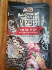 Merrick Backcountry Freeze Dried Raw Mixers Beef Dog Food 12.5 Oz