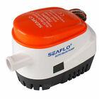 SEAFLO 750GPH Automatic Bilge Pump Marine Boat Auto Submersible Water Pump 12V photo