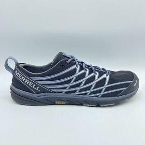 Merrell Bare Access Arc 3 Black Silver J06302 Minimalist Running Shoes Womens 10