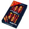 Witte 670022 6 Piece Protop II Insulated Slotted and Phillips Screwdriver Set