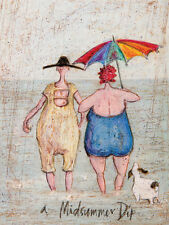 Sam Toft - Midsummer Dip - 30 x 40cm Canvas Print Wall Art WDC12009