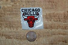 """Chicago Bulls 1 1/2"""" Patch 1966-Present Primary Logo Basketball"""