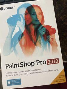 new Corel PaintShop Pro 2019 sealed! photo editing graphic design free shipping