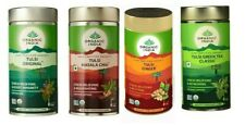 Organic India Tulsi Tea Original Ginger Green Masala Assam Darjeeling 100gm
