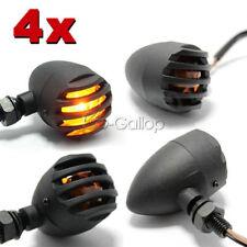 4pcs Turn Signal Bullet Blinker Fit Harley Dyna Softail Sportster XL 1200 883