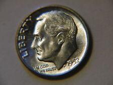 1952  Roosevelt Dime BU uncirculated gem!