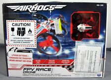 Spin Masters DR1 Racing Air Hogs Red/White FPV Race Drone w/ Headset 10+ NIB