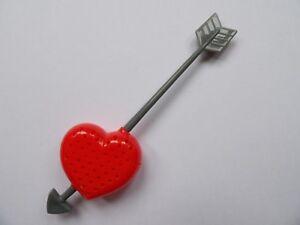 CUPIDS ARROW LOVE HEART TEA INFUSER (BRAND NEW)