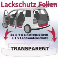 VW Caddy 4 Ab.2015- Sparset Ladekantenschutz Einstiegsleiste Schutzfolie Transpa