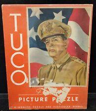 Vintage Tuco Puzzle MacArthur Steinke Forward America Patriotic WWII C4-9