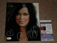 CHYNA SIGNED AUTOGRAPHED 8X10 PHOTO WWE WRESTLING LEGEND JSA CERTIFIED