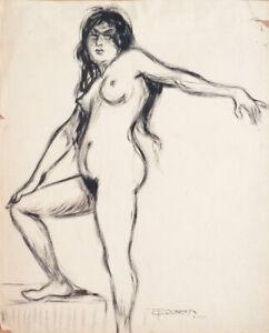 Femme nue dessin à l'encre de GERMY vers 1910 Germinet