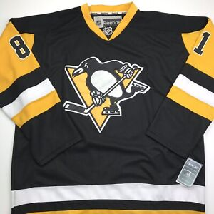 Reebok Authentic Pittsburgh Penguins #81 Kessel Fight Strap Jersey Men's Size 56