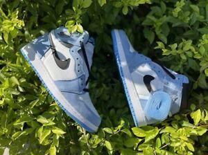 NEW Air Jordan 1 Retro Mid Shadow G University Blue Men's