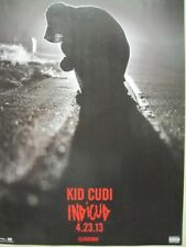 Kid Cudi 2013 Indicud 4.23.13 Release Promotional Poster Flawless New Old Stock