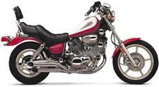 Cobra Slip-On Slashcut Mufflers Chrome #2165SC Yamaha Virago 1100/Virago 750