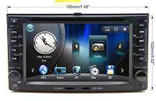 In Dash Car Stereo BT Radio 2 Din CD DVD Player GPS Navigation For KIA Sorento