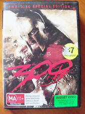 300 (DVD, 2007, 2-Disc Set) * USED *