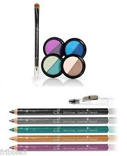 e.l.f. Duo Powder Eye Shadow SET w/ Shimmer Eyeliner Pencil ELF NEW Free S&H!